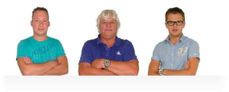 Het team autorijschool Mullender
