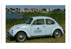 VW kever Autorijschool Mullender.