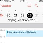 Agenda RijbewijsApp