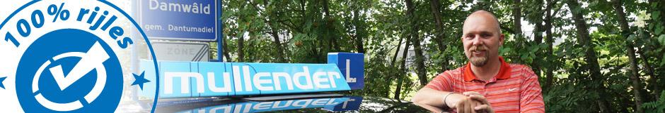 Meer over Joël Land, rijschool Mullender